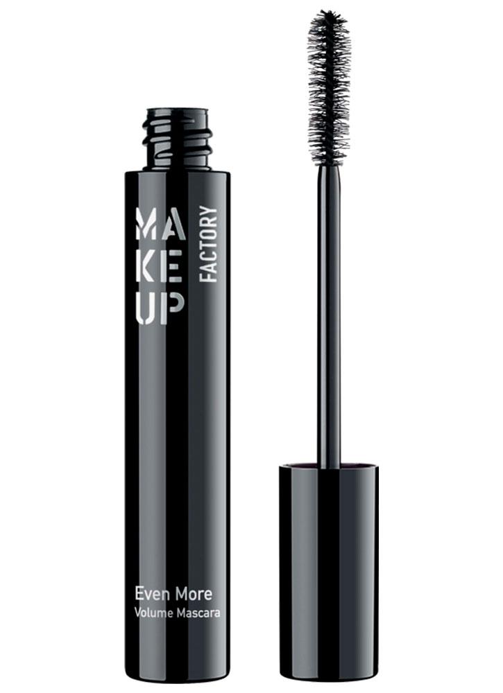 Купить Тушь для ресниц Черный MAKE UP FACTORY, Even More Volume Mascara, Германия