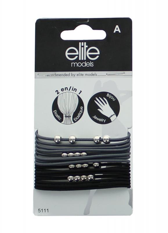 Набор больших резинок для волосРезинки для волос<br>Марка премиальных украшений для волос - Элит предлагает ассортимент аксессуаров подобных драгоценностям. Это больше, чем аксессуары, это - настоящая мода! Резинки идеально подходят для любого типа волос.<br>