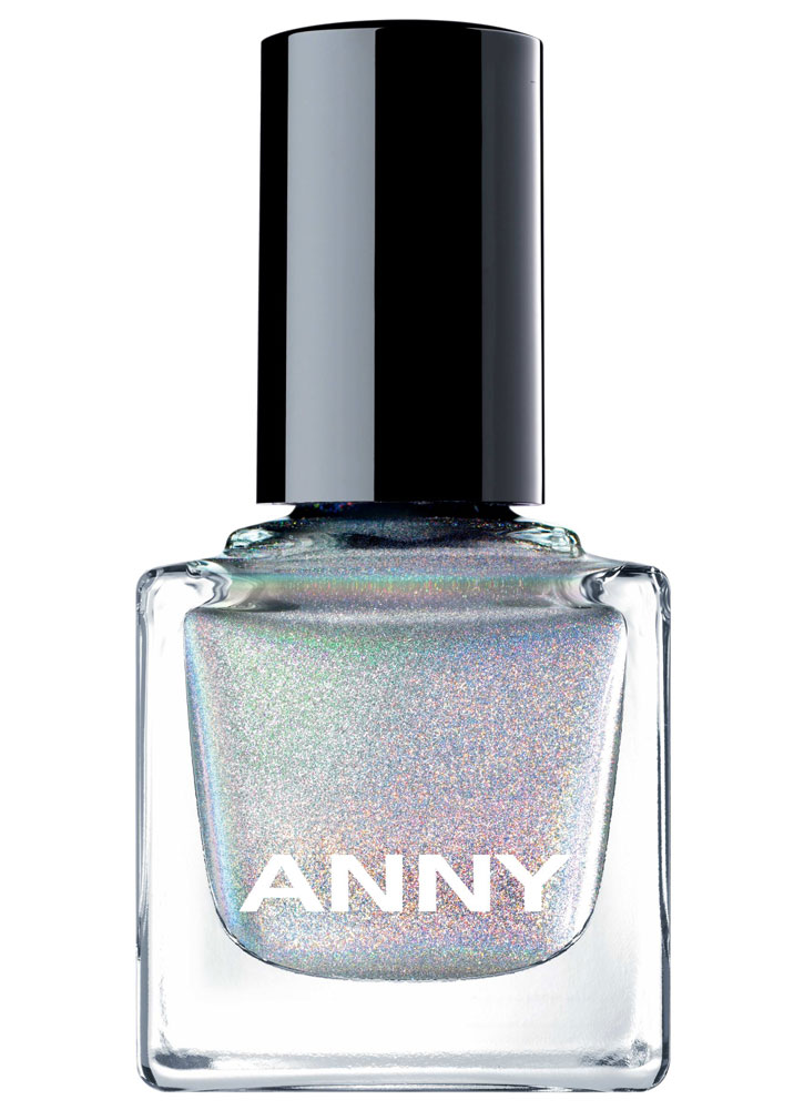 Лак для ногтей Голографик серебро ANNY Shades фото