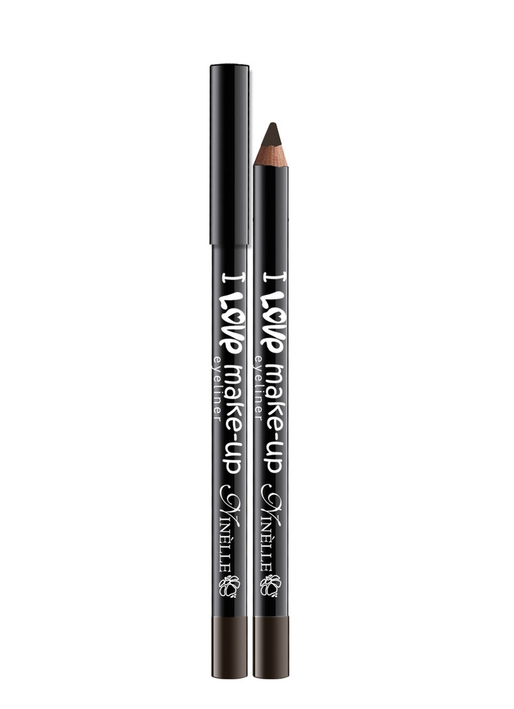 Карандаш для глаз I Love Make-Up тон 61 Темно-коричневыйКарандаш для глаз<br>Текстура нового поколения для мягкого и легкого нанесения и для высокой устойчивости.<br>Цвет: Темно-коричневый;