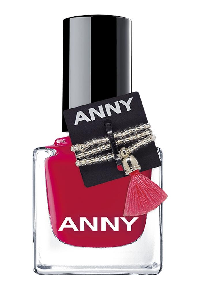 Лак для ногтей Вишнево-красный ANNY Shades фото