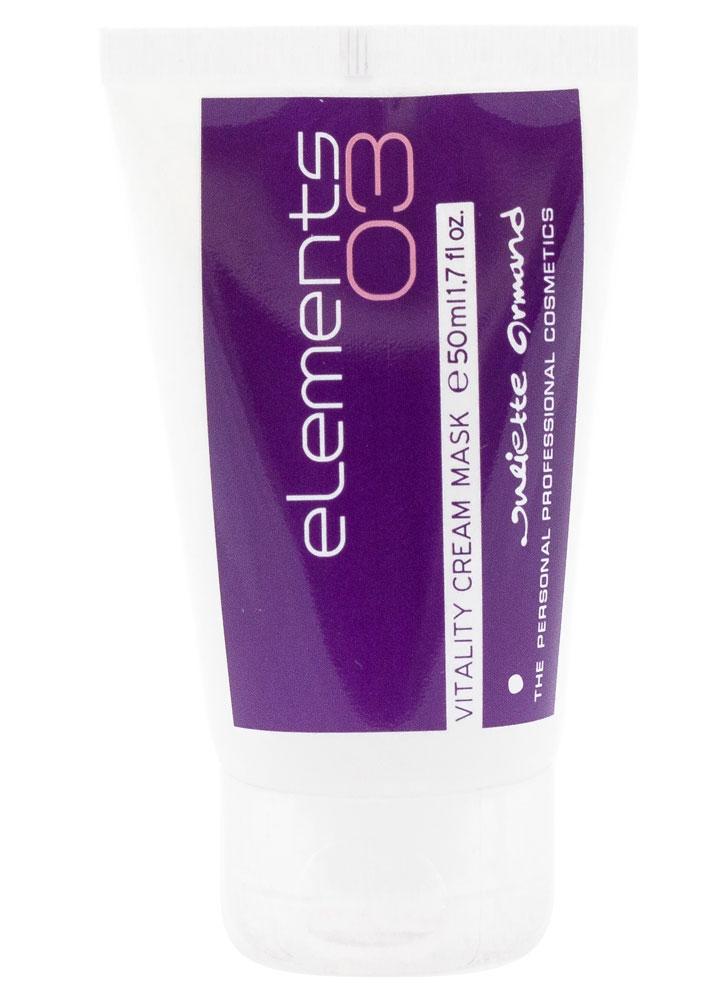 Оживляющая крем-маска Vitality Cream Mask 50 млМаска<br>Новаторский препарат нежнейшей консистенции, восстанавливает, тонизирует, увлажняет и повышает упругость «уставшей» кожи. Насыщенный аминокислотами, НЖК, витаминами Е, С, F и экстрактом спирулины, препарат укрепляет межклеточный матрикс и восстанавливает защитные функции эпидермиса.<br>