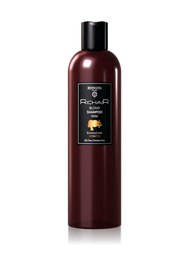 Шампунь для осветлённых и обесцвеченных волос c Кератином 400 млШампуни<br>Шампунь создан для деликатного очищения осветлённых, обесцвеченных и мелированных волос без повреждения пористы участков волос. Мягкая формула шампуня не раздражает чувствительную кожу головы.&amp;nbsp;&amp;nbsp;Идеален для ежедневного использования, для ухода за сухой кожей головы, а также для наращенных и химически выпрямленных волос.<br>