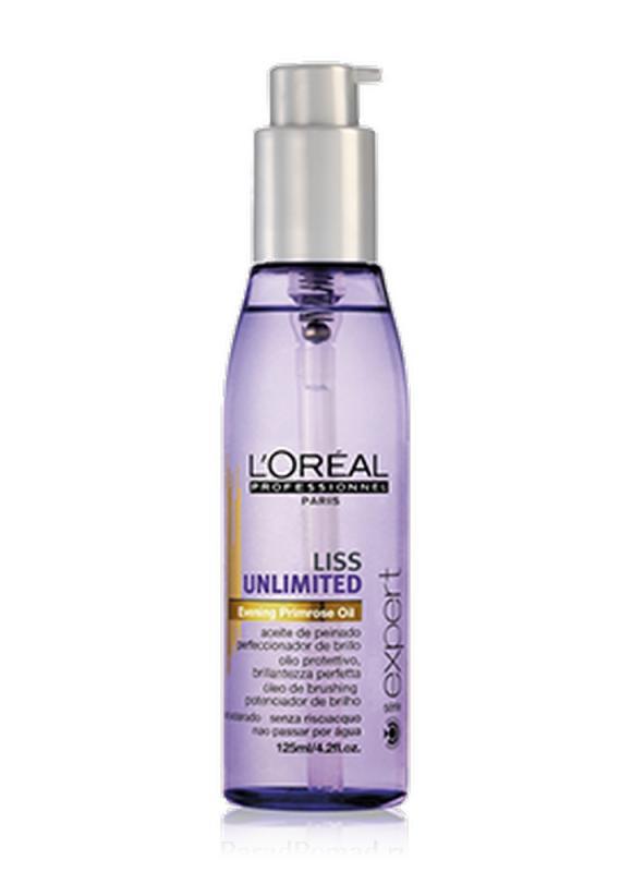 Масло-сияние Liss Unlimited 125 млМасло<br>Термозащитное масло-сияние для непослушных волос интенсивно питает волосы, разглаживает их, придавая блеск и сияние.<br>