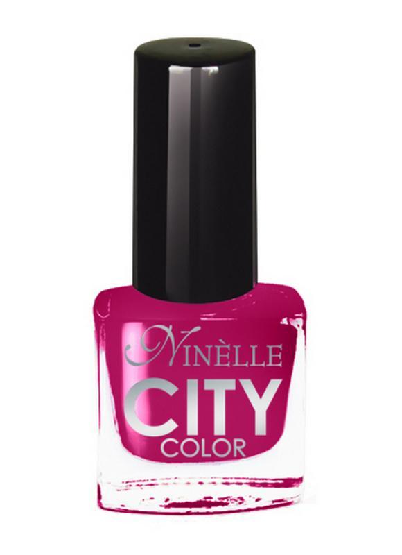 Лак для ногтей City Color тон 171 Ягодный пирогЛак для ногтей<br>Новейшие тенденции маникюра и потребности современных женщин вдохновили марку Ninelle на создание новой коллекции лаков для ногтей CITY COLOR от NinelleФормула уникальна и безупречна: лак быстро сохнет, гарантирует идеальную цветопередачу и потрясающий блеск, а также непревзойденную стойкость. Лак для ногтей City color выравнивает поверхность ногтя, делая его идеально гладким и безупречно глянцевым. Высокая концентрация пигментов и новая кисть заметно упростили маникюрную процедуру - лаки теперь можно наносить одним слоем. Удобная кисточка поможет распределить лак быстро и с максимальной точностью, что позволяет равномерно нанести лак даже на короткие ногти. Богатая цветовая гамма позволяет выбрать прекрасный вариант для любого повода. В состав входят ухаживающие компоненты, предотвращающие повреждения ногтей. И еще одно удобство для жительниц мегаполисов - лак снимается настолько легко, что его можно менять так часто, как Вы пожелаете. Подходит для натуральных и искусственных ногтей.<br>Цвет: Ягодный пирог;