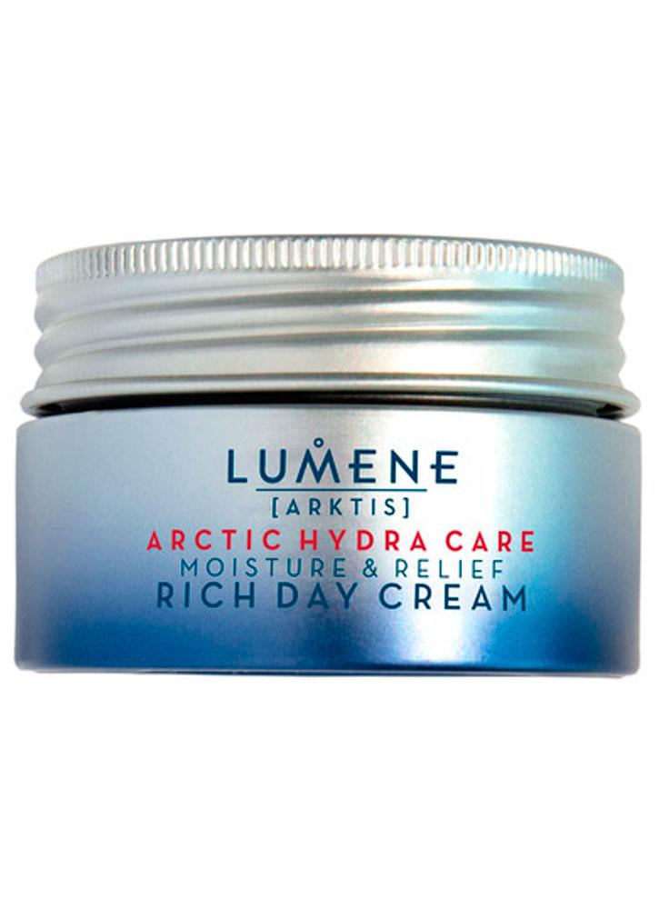 Увлажняющий и успокаивающий насыщенный дневной крем LUMENE Moisture and relief rich day cream