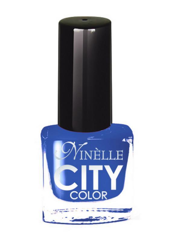 Лак для ногтей City Color тон 155 Ледяной синийЛак для ногтей<br>Новейшие тенденции маникюра и потребности современных женщин вдохновили марку Ninelle на создание новой коллекции лаков для ногтей CITY COLOR от NinelleФормула уникальна и безупречна: лак быстро сохнет, гарантирует идеальную цветопередачу и потрясающий блеск, а также непревзойденную стойкость. Лак для ногтей City color выравнивает поверхность ногтя, делая его идеально гладким и безупречно глянцевым. Высокая концентрация пигментов и новая кисть заметно упростили маникюрную процедуру - лаки теперь можно наносить одним слоем. Удобная кисточка поможет распределить лак быстро и с максимальной точностью, что позволяет равномерно нанести лак даже на короткие ногти. Богатая цветовая гамма позволяет выбрать прекрасный вариант для любого повода. В состав входят ухаживающие компоненты, предотвращающие повреждения ногтей. И еще одно удобство для жительниц мегаполисов - лак снимается настолько легко, что его можно менять так часто, как Вы пожелаете. Подходит для натуральных и искусственных ногтей.<br>Цвет: Ледяной синий;