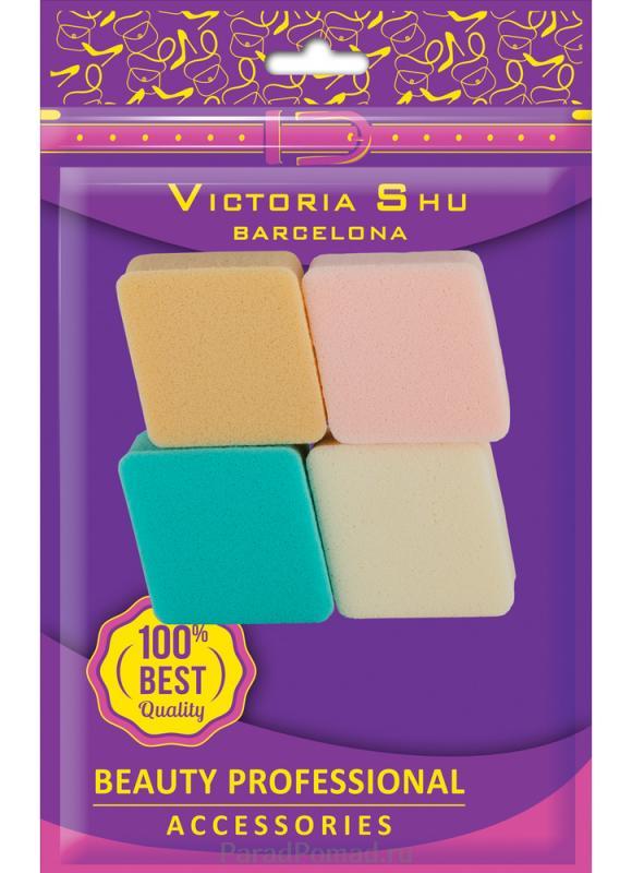 Спонжи для пудры тональной основы VICTORIA SHU S103