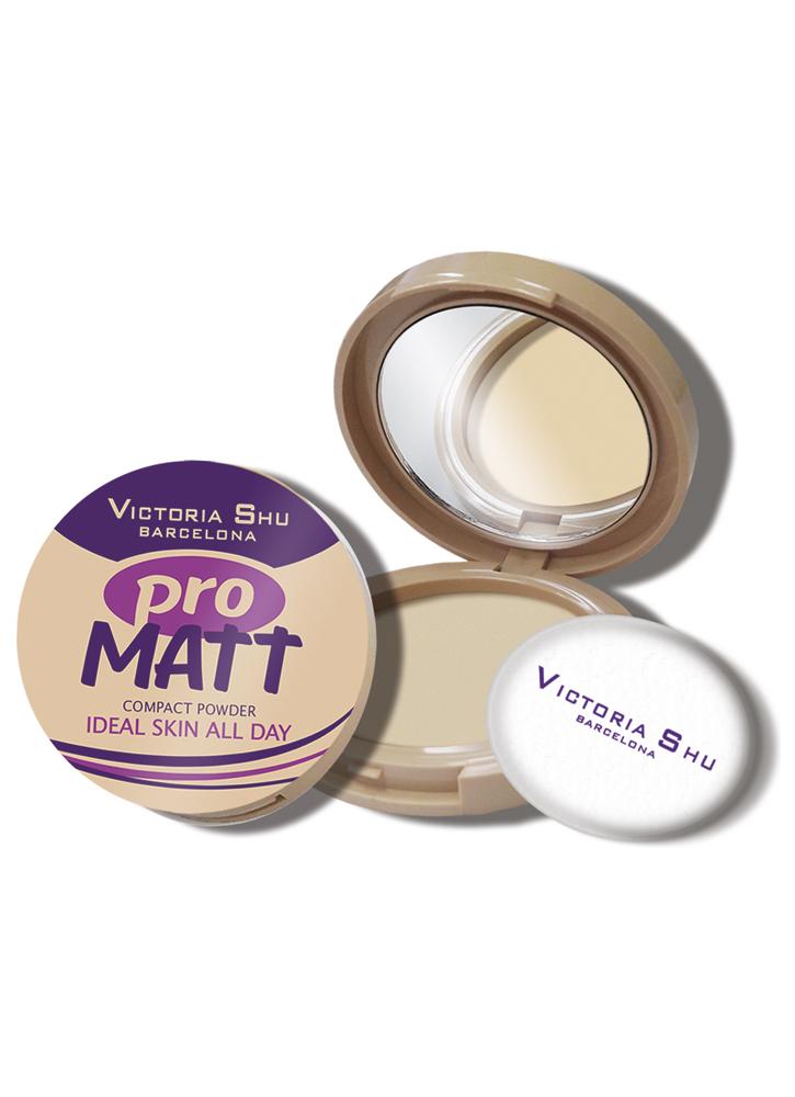 Пудра компактная Pro Matt тон 425 БежевыйПудра<br>Матирующая пудра для нежной и бархатистой кожи.<br>Цвет: Бежевый;
