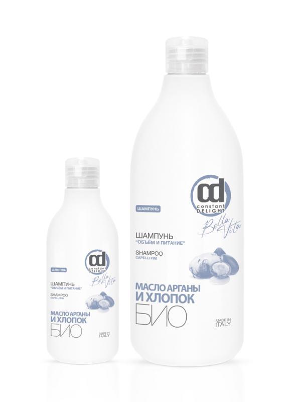 Шампунь Объём и Питание 250 млШампуни<br>Максимально деликатное очищение тонких волос.<br>