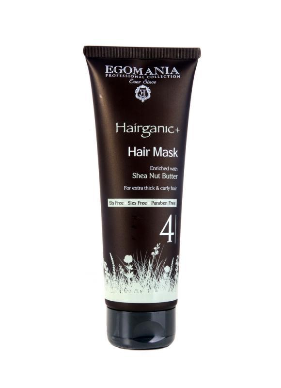 Маска с маслом ши для густых, вьющихся волос 250 млМаска<br>Маска на основе масла ши способна реконструировать структуру жестких поврежденных волос, увлажняет и придает волосам эластичность. Эффект от применения маски – здоровая кожа головы и эластичные, увлажненные, блестящие волосы, легко поддающиеся укладке, целостная структура волос, живые и эластичные локоны.<br>