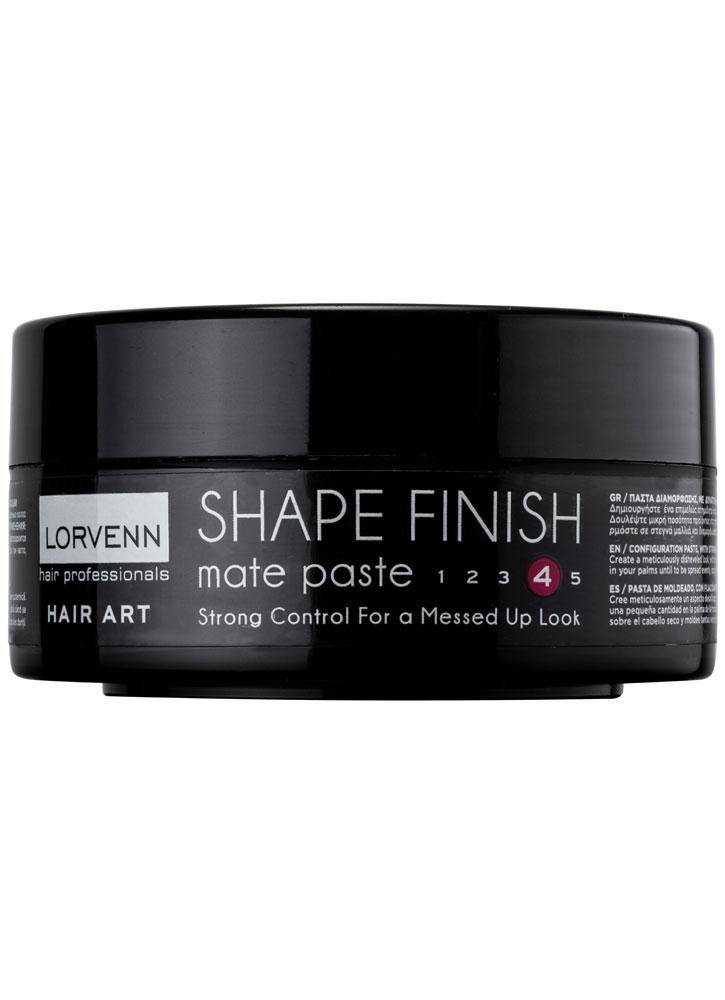 Паста для волос моделирующая сильной фиксации Shape Finish Mat Paste 80 млПаста<br>Инновационная моделирующая паста помогает создать аккуратную укладку с эффектом взъерошенных волос. <br>