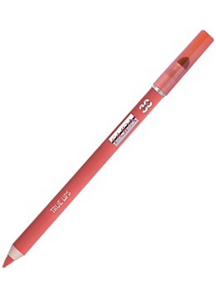 Карандаш для губ с аппликатором True Lips Pencil тон 30 АбрикосовыйКарандаш для губ<br>Контурный карандаш для губ с аппликатором для растушевки&amp;nbsp;&amp;nbsp;придаст губам четкий контур. Пластичная текстура карандаша легко наносится и дает возможность использовать его в качестве самостоятельного декоративного средства для создания матового эффекта на губах и для оформления контура губ.<br>Цвет: Абрикосовый;