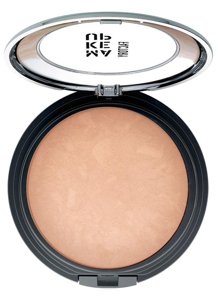 Пудра бронзирующая запеченная с эффектом сияния Светлый загар MAKE UP FACTORY Touch of Tan Bronzer фото