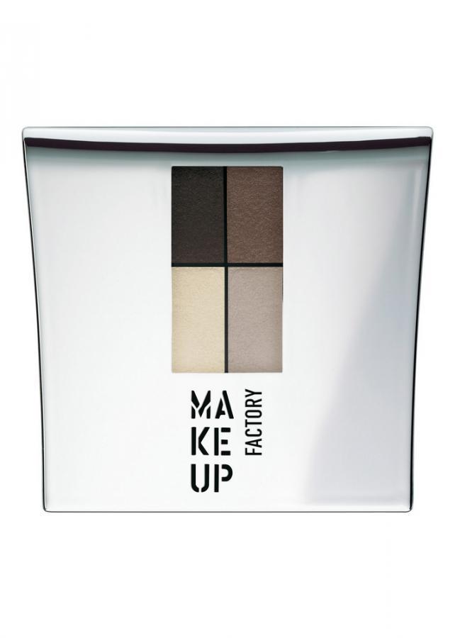 Тени для век четырехцветные Eye Colors тон 4 дуб/коричневая охра/цинковые белила /серыйТени для век<br>Eye Colors представляет собой комплект из четырех сбалансированных оттенков теней для век. Невероятно мягкая текстура теней обеспечивает легкое нанесение, отличную растушевку, а гамма оттенков идеально подходит для любого вида макияжа.Практичную&amp;nbsp;&amp;nbsp;удобную&amp;nbsp;&amp;nbsp;упаковку с зеркалом и аппликатором всегда удобно взять с собой.<br>Цвет: дуб/коричневая охра/цинковые белила /серый;