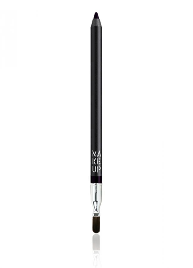 Карандаш для глаз устойчивый водостойкий Smoky Liner long-lasting &amp; waterproof тон 35 БаклажанКарандаш для глаз<br>Устойчивый карандаш Smoky Liner long-lasting &amp; waterproof идеально подходит для создания линий по внешнему и внутреннему веку, а также для карандашных растушевок. Наличие удобной кисти на обратной стороне карандаша позволяет качественно растушевать линию и трансформировать ее в мягкие тени. Мягкая и кремовая текстура на основе воска очень пластична, легко ложится и не царапает веко. Карандаш обеспечит водостойкий результат и интенсивный цвет. Незаменимый помощник для макияжа в стиле Smokey Eyes.<br>Цвет: Баклажан;