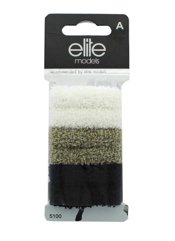 Набор средних модных резинок для волосРезинки для волос<br>Эти резинки идеальны для тонких и коротких волос. Благодаря отсутствию металлических нитей, они не повреждают волосы.<br>
