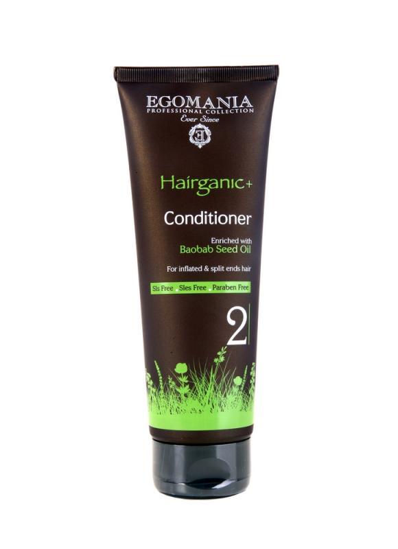 Кондиционер с маслом баобаба для непослушных и секущихся волос 250 млКондиционер<br>Кондиционер подходит для поврежденных, секущихся, ломких и не имеющих объема волос. После использования кондиционера волосы становятся мягкими, блестящими и послушными.<br>Объем мл: 250;