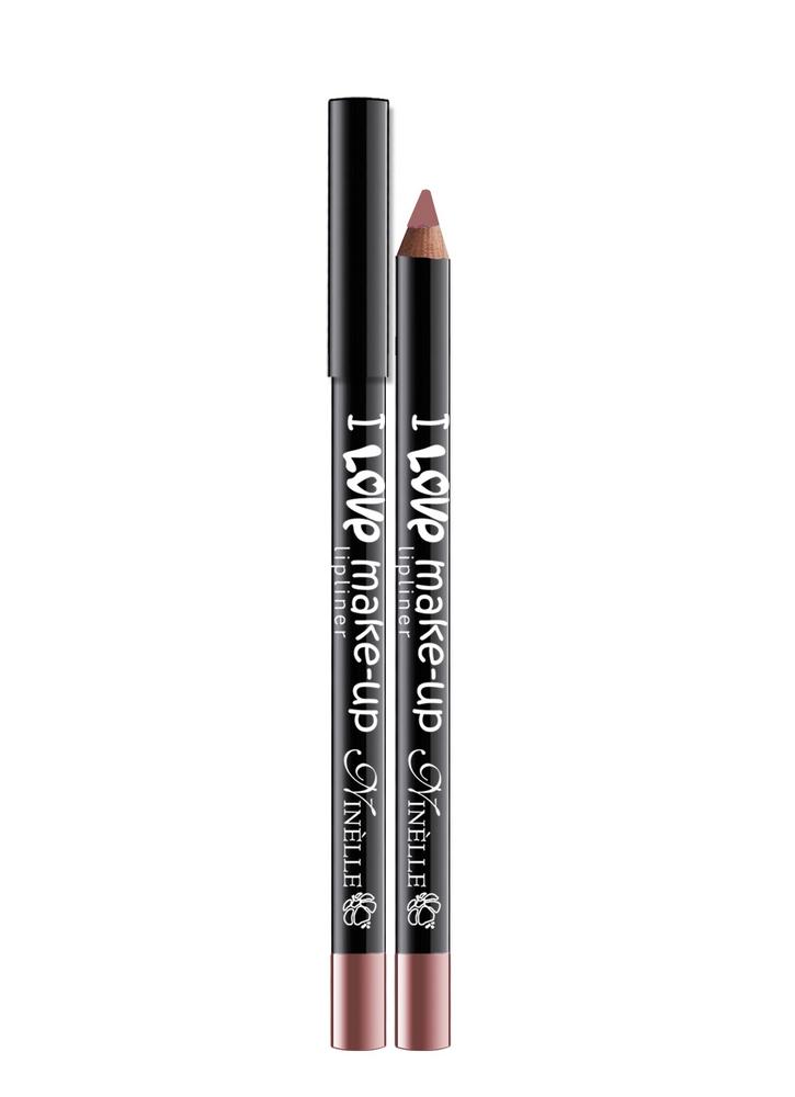 Карандаш для губ I Love Make-Up тон 199 РозовыйКарандаш для губ<br>Текстура нового поколения для мягкого и легкого нанесения и для высокой устойчивости.<br>Цвет: Розовый;