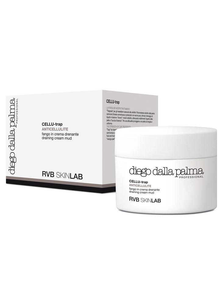 Купить Крем баттер для тела с дренажным эффектом DIEGO DALLA PALMA RVB SKINLAB, Draining Cream Mud