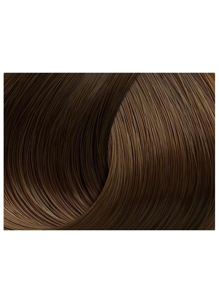 Стойкая крем-краска для волос 6.73 -Темный блонд табачный LORVENN Beauty Color Professional тон 6.73 Темный блонд табачный фото