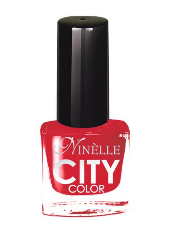 Лак для ногтей City Color тон 157 ФламенкоЛак для ногтей<br>Новейшие тенденции маникюра и потребности современных женщин вдохновили марку Ninelle на создание новой коллекции лаков для ногтей CITY COLOR от NinelleФормула уникальна и безупречна: лак быстро сохнет, гарантирует идеальную цветопередачу и потрясающий блеск, а также непревзойденную стойкость. Лак для ногтей City color выравнивает поверхность ногтя, делая его идеально гладким и безупречно глянцевым. Высокая концентрация пигментов и новая кисть заметно упростили маникюрную процедуру - лаки теперь можно наносить одним слоем. Удобная кисточка поможет распределить лак быстро и с максимальной точностью, что позволяет равномерно нанести лак даже на короткие ногти. Богатая цветовая гамма позволяет выбрать прекрасный вариант для любого повода. В состав входят ухаживающие компоненты, предотвращающие повреждения ногтей. И еще одно удобство для жительниц мегаполисов - лак снимается настолько легко, что его можно менять так часто, как Вы пожелаете. Подходит для натуральных и искусственных ногтей.<br>Цвет: Фламенко;