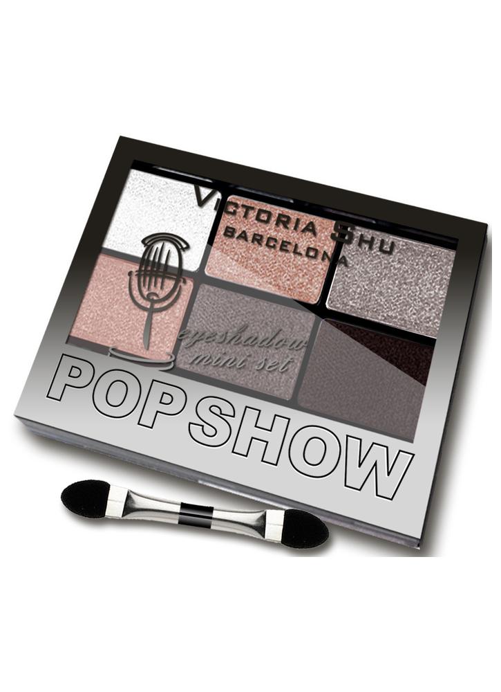 Набор теней для век Pop Show тон 468 Коричнево-персиковая гаммаПалетка теней<br>Мини-наборы для создания макияжа любой сложности – легкого дневного или&amp;nbsp;&amp;nbsp;выразительного вечернего.<br>Цвет: Коричнево-персиковая гамма;