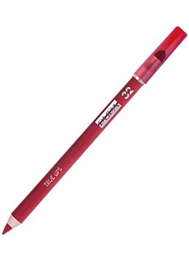 Карандаш для губ с аппликатором True Lips Pencil тон 32 Клубничный красныйКарандаш для губ<br>Контурный карандаш для губ с аппликатором для растушевки&amp;nbsp;&amp;nbsp;придаст губам четкий контур. Пластичная текстура карандаша легко наносится и дает возможность использовать его в качестве самостоятельного декоративного средства для создания матового эффекта на губах и для оформления контура губ.<br>Цвет: Клубничный красный;