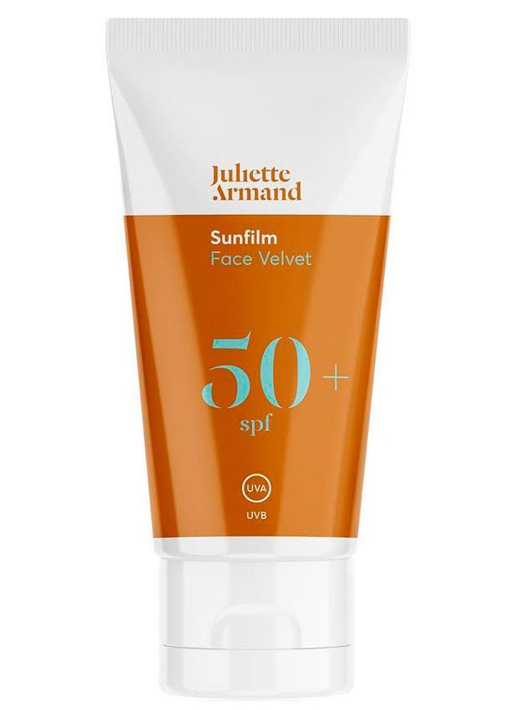 Крем солнцезащитный SPF 50+ JULIETTE ARMAND Face Velvet SPF 50+ фото