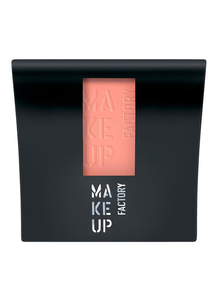 MAKE UP FACTORY Румяна для лица компактные матовые Mat Blusher тон 14 Розовый абрикос