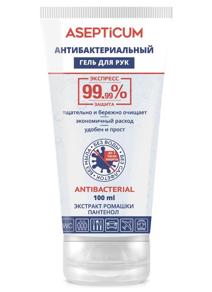 Гель для рук антибактериальный с экстрактом ромашки и пантенолом VILSEN