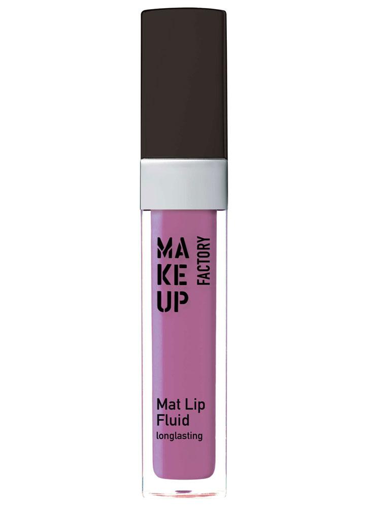 Помада для губ жидкая матовая Яркий фиолетовый MAKE UP FACTORY