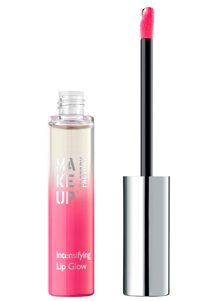 Блеск-бальзам для губ питательный Прозрачный розовый MAKE UP FACTORY Intensifying Lip Glow фото