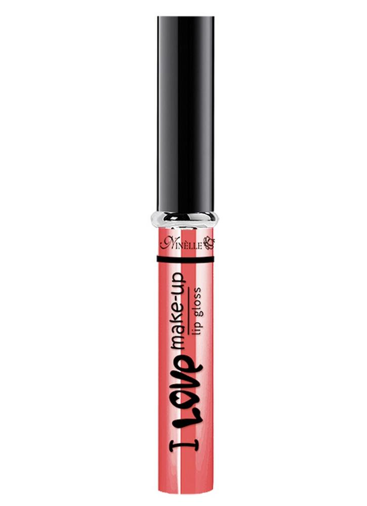 Блеск для губ I Love Make-Up тон 03 Нежный кораллБлеск для губ<br>Блеск для губ с нежной комфортной текстурой и легким женственным ароматом.<br>Цвет: Нежный коралл;