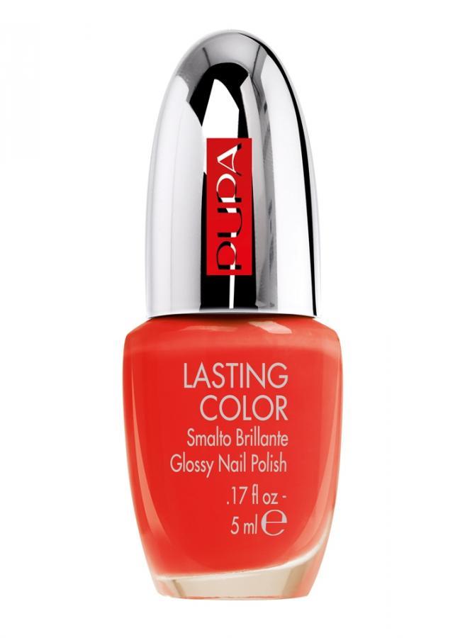 Лак для ногтей Lasting Color тон 519 Темный оранжевыйЛак для ногтей<br>Lasting Color -&amp;nbsp;&amp;nbsp;лак для создания безупречных ногтей! Огромная палитра оттенков, от простых одноцветных, металлических до коллекций с блестками и пайетками. Лак для ногтей легко наносится, быстро высыхает и долго держится. Удлиненная кисточка обеспечивает ровное покрытие. Лак можно использовать самостоятельно или в качестве защитного слоя.<br>Цвет: Темный оранжевый;