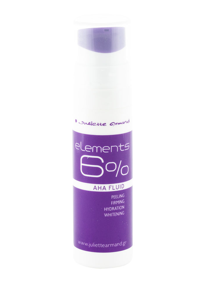 Флюид с 6% AHA кислот 6% Aha Fluid Without Granules 30 млПилинг<br>Легкий крем – флюид с эффектом пилинга. Стимулирует естественные процессы восстановления и омоложения кожи, интенсивно увлажняет, повышает тонус и упругость, выравнивает цвет кожи, дарит ей нежность и сияние.<br>