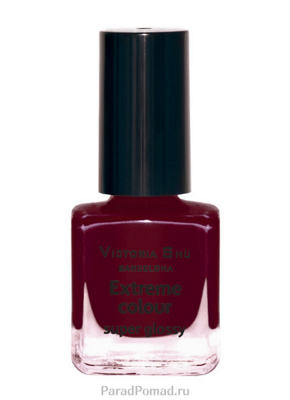 Лак для ногтей Extreme Colour Золотая Victoria Shu тон 244 бургундскоеЛак для ногтей<br>EXTREME COLOUR от VICTORIA SHU – это яркие, смелые, соблазнительные оттенки. Любые цвета – на любой вкус, от нежных пастельных, интенсивных супермодных оранжевых, лиловых и оттенков фуксии до сенсационных красного и черного.<br>Цвет: бургундское;