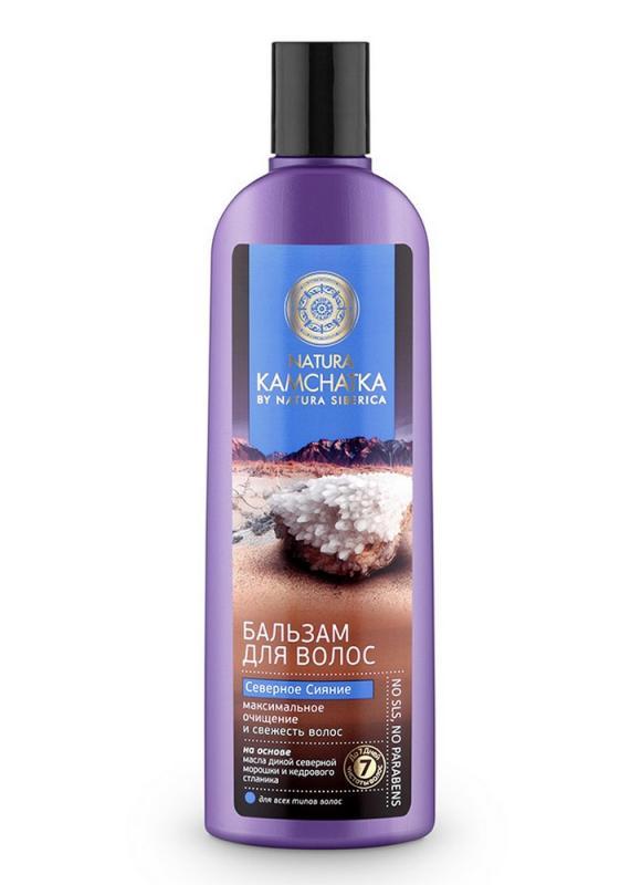 Бальзам для очищения и свежести волос NATURA SIBERICA Бальзам Северное сияние фото