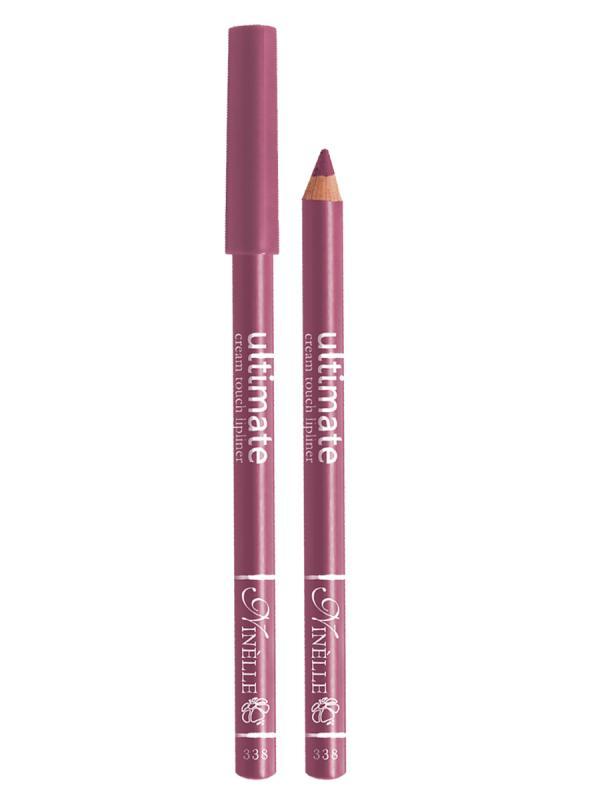 Карандаш для губ Ultimate тон 338 Нежный лиловыйКарандаш для губ<br>Мягкий карандаш для создания идеального контура губ. Благодаря своей активной ухаживающей формуле и нежной, кремовой текстуре средство обеспечивает легкость нанесения и ощущение комфорта. Мягкий грифель карандаша легко скользит по коже, оставляя яркую, чистую линию, высокой точности, которая в течение всего дня сохраняет идеальную форму губ. Контурный карандаш с приятной, кремовой текстурой обогащен маслами и восками, смягчающими и питающими губы. Карандаш очень долго держится на губах. Позволяет моделировать контур губ, повышает стойкость губной помады или блеска, может наноситься на всю поверхность губ вместо помады. Предотвращает растекание помады или блеска.<br>Цвет: Нежный лиловый;