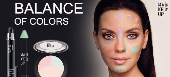 Balance of colors - новая линейка от Make Up Factory
