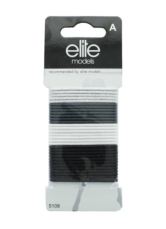 ELITE Набор средних резинок для волос