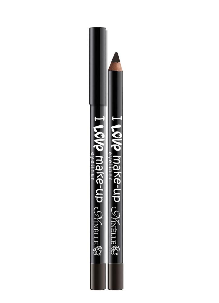 Карандаш для глаз I Love Make-Up тон 62 КоричневыйКарандаш для глаз<br>Текстура нового поколения для мягкого и легкого нанесения и для высокой устойчивости.<br>Цвет: Коричневый;