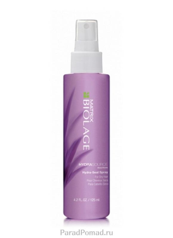 Спрей-вуаль несмываемый Biolage Hydra Source Hydra-Seal Sprey 125 млСпрей<br>Несмываемый спрей-вуаль Biolage HYDRASOURCE™ помогает оптимизировать гидробаланс сухих волос, возвращая им здоровый, сияющий вид. Подходит для окрашенных волос<br>