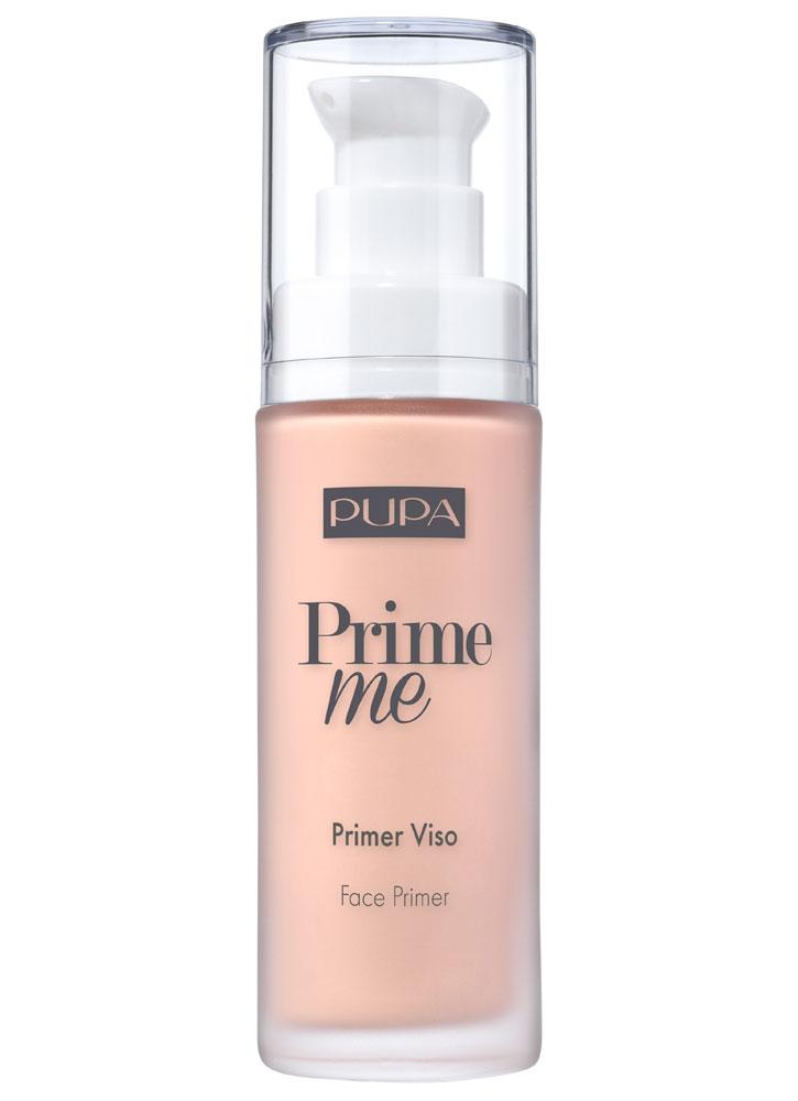 Праймер для лица корректирующий для тусклой кожи PUPA Prime Me Corrective Face Primer Dull Skin фото