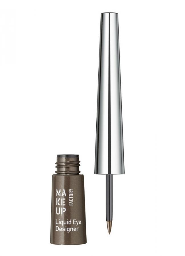 Подводка для глаз жидкая Коричневый MAKE UP FACTORY Liquid Eye Designer фото