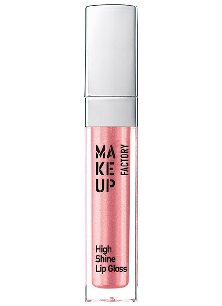 Блеск для губ розовая глазурь MAKE UP FACTORY HIGH SHINE