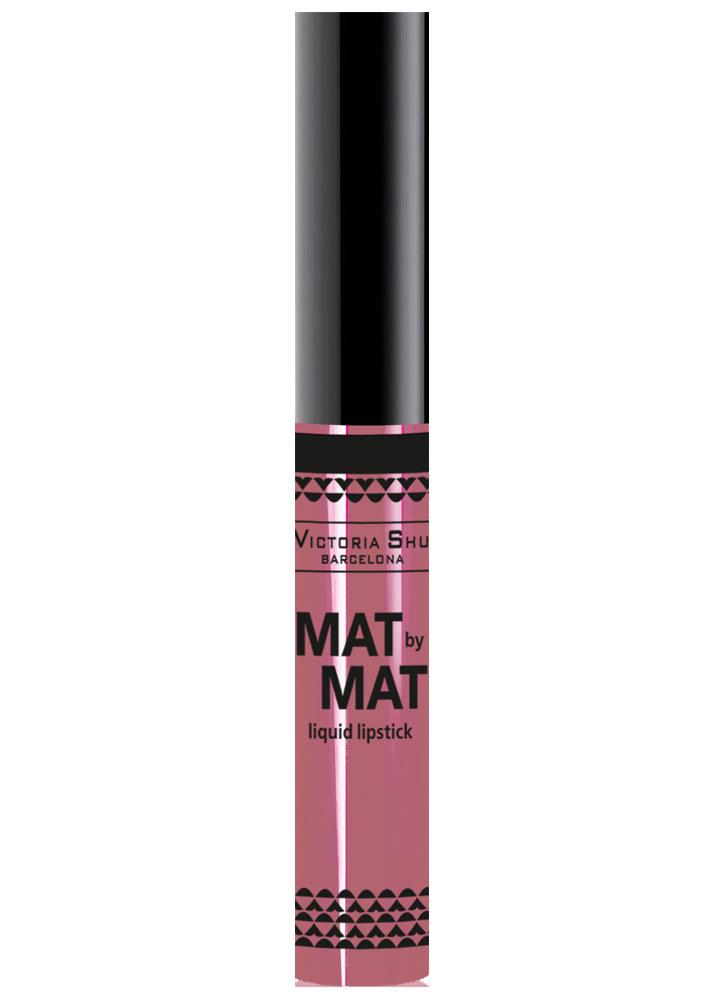 VICTORIA SHU Помада для губ жидкая матовая Mat By Mat тон 253