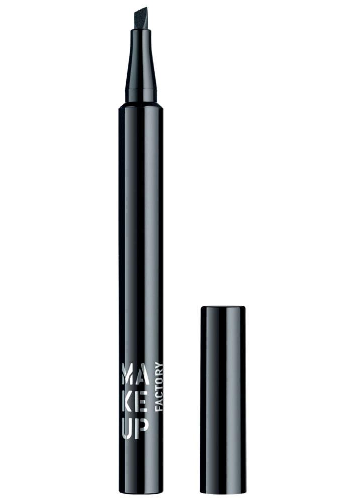 Купить Подводка для век жидкая Черный MAKE UP FACTORY, Full Dimension Liquid Liner, Германия