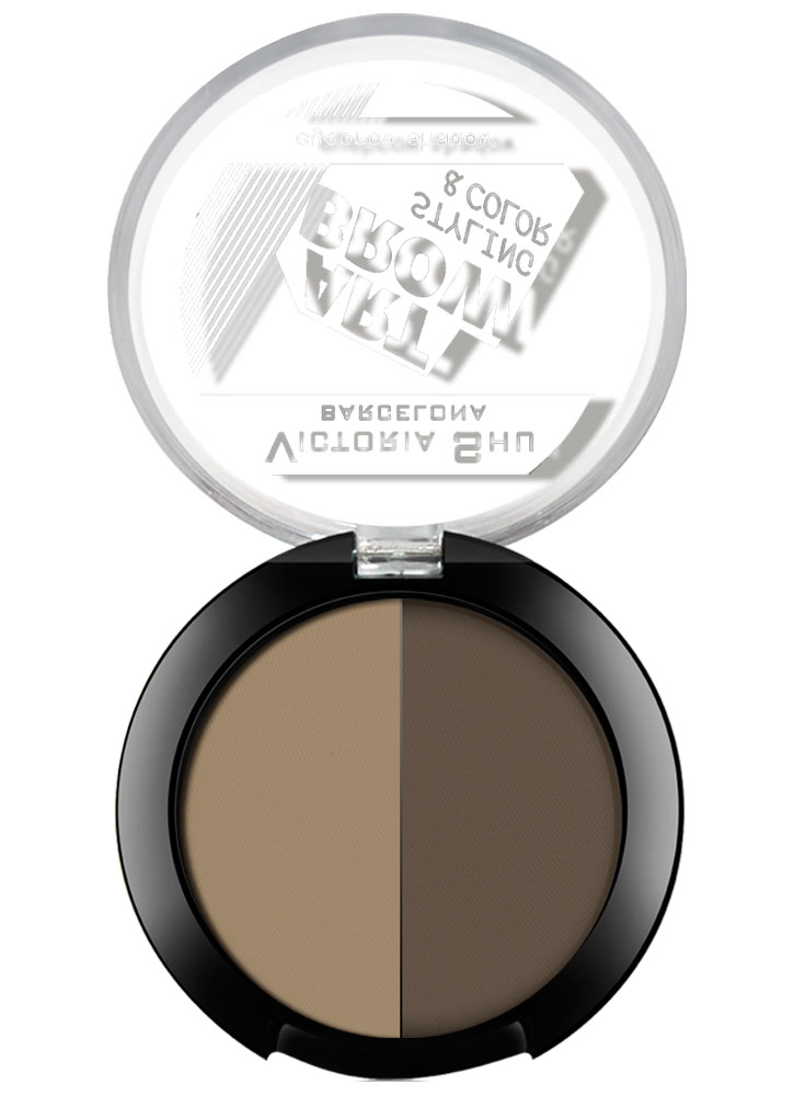Тени для бровей Eye Brow Shadow Art Brow тон 101Пудра для бровей<br>-<br>Цвет: Натуральный коричневый;