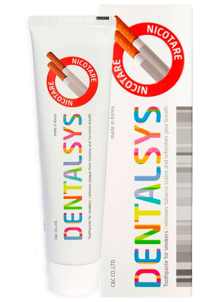 Зубная паста для курильщиков Денталсис никотар DENTAL CLINIC 2080 DENTALSYS NICOTARE фото